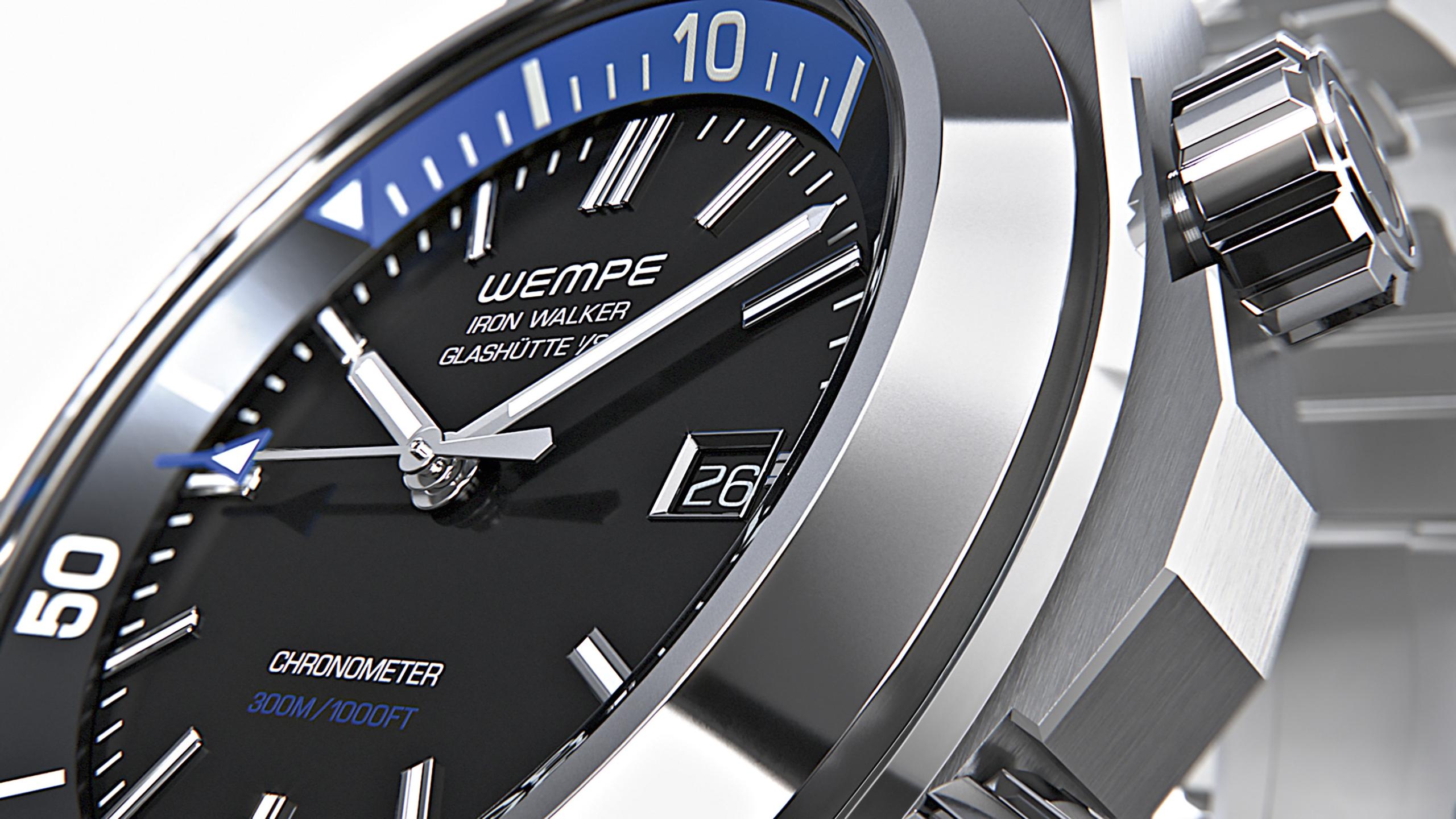 Wempe Iron Walker Reloj y Buceo