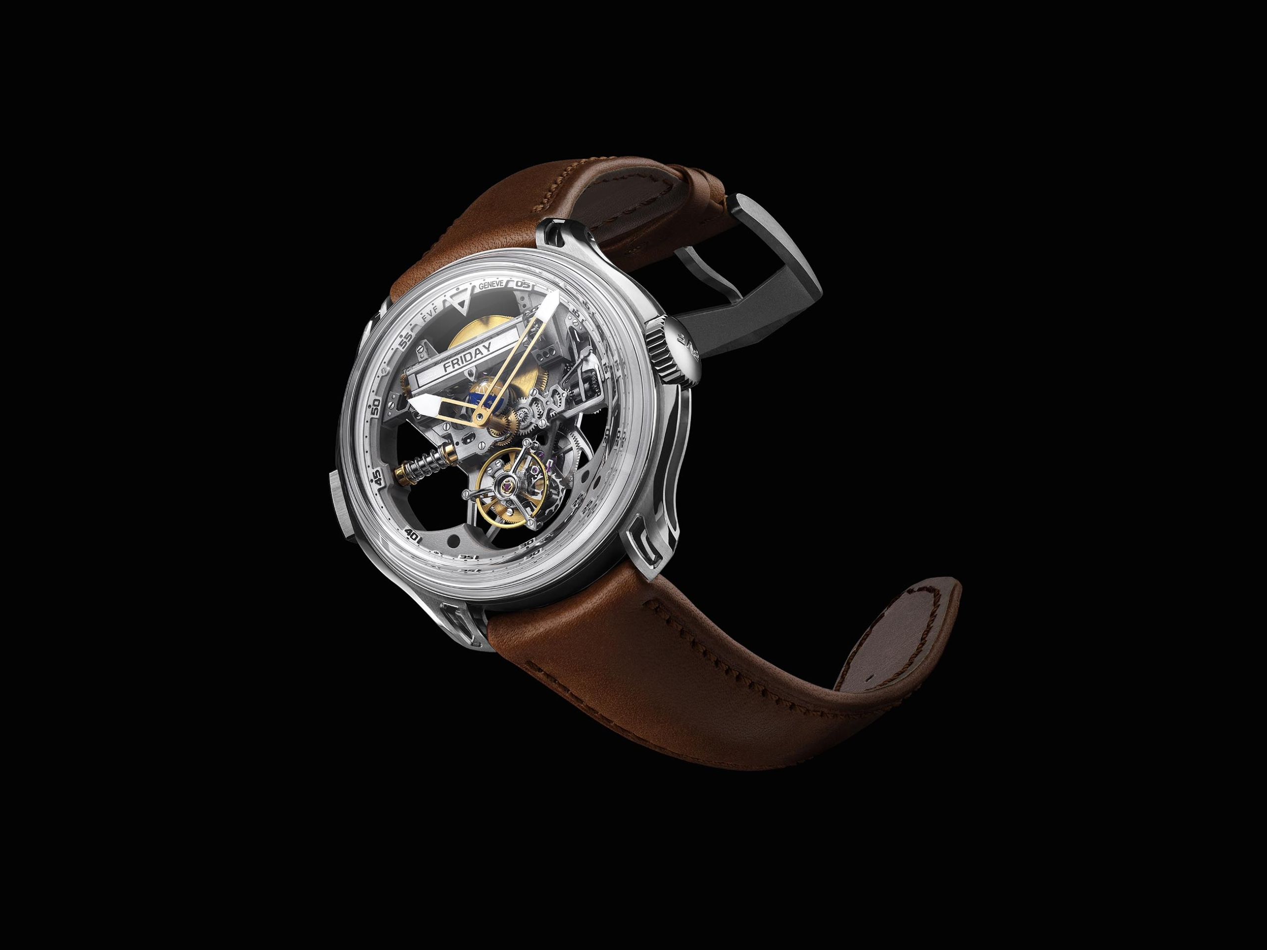 FVF Emotional Horology No 1 Superligero Unibody Tourbillon DAY